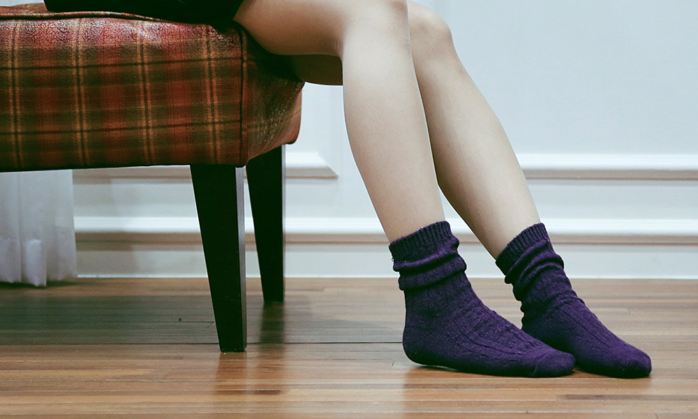 SSTZ Wool Stripe Socks